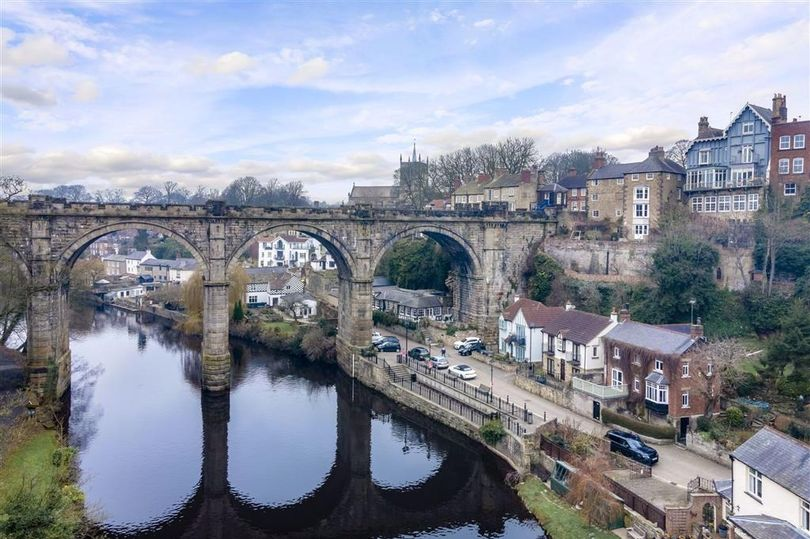 Three-bed home for sale in stunning shadow of 170-year-old viaduct